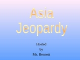 Asia Jeopardy Game