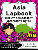 Asia Lapbook & Interactive Notes