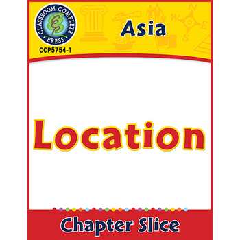 Asia: Location Gr. 5-8