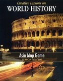 Asia Map Game, WORLD HISTORY LESSON 78/100, Fun Class Competition