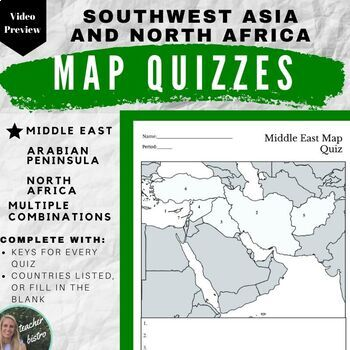 Middle East & Arabian Peninsula: Southwest Asia, North ...