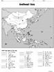 Asia Map Set