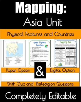 Asia Mapping Acitivty