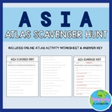 Asia Online World Atlas Scavenger Hunt