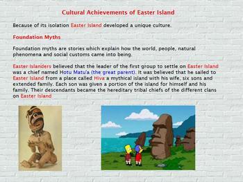 Asia- Pacific Polynesian Expansion - Cultural achievements Flipchart