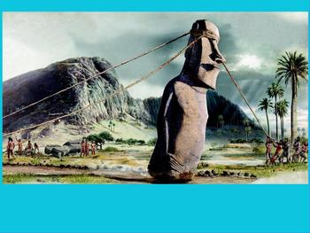 Asia- Pacific Polynesian Expansion - Easter Island statuesFlipchart