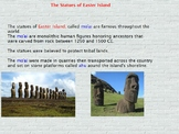 Asia- Pacific Polynesian Expansion - Easter Island statues