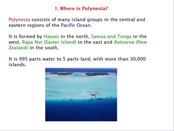 Asia- Pacific Polynesian Expansion - Introduction Flipchart