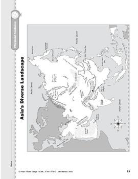 Asia: Physical Features: Diverse Landscape