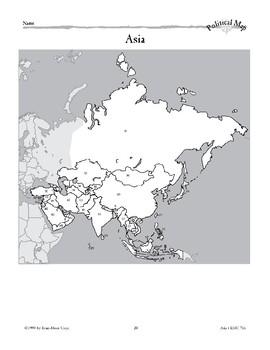 Asia: Political Divisions