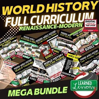Asia Post WWII BUNDLE (World History Bundle)