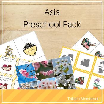 Asia Preschool Pack