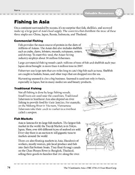 Asia: Resources: Fishing