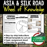 Asia, Silk Road Activity, Wheel of Knowledge (Interactive Notebook)