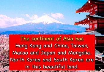 """Asia Song Movie Download and Test by Kathy Troxel from """"Geography Songs"""""""