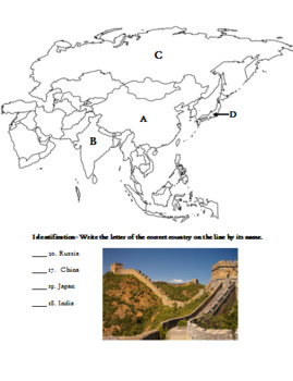 Asia Test and Study Guide