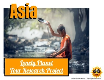 Asia Travel Internet Research Project - Lonely Planet