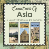 Asia Unit Study: Countries of Asia Brochures
