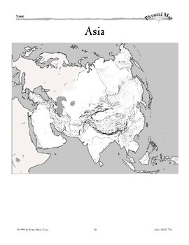 Asia: Water and Landforms