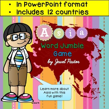 Asian Studies PowerPoint Game