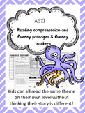 Asia fluency and comprehension leveled passage