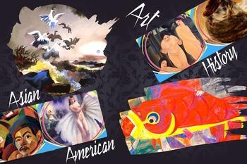 Asian American Art History - FREE POSTER