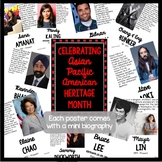 Asian American Heritage Month Biography Posters