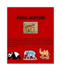 Asian Animals 3 part cards