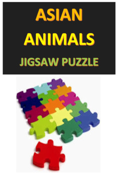 Asian Animals Jigsaw Puzzle