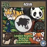 Asian Animals - Starter Bundle - Leveled Reading, Slides & Activities