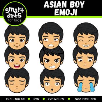 Asian Boy Emoji Clip Art