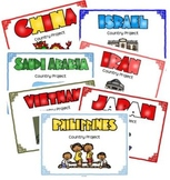 Asian Countries Project Bundle