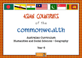 HASS Year 6 Geography - Asian Countries in the Commonwealt