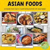 Asian Cuisine Montessori 3 Part Cards