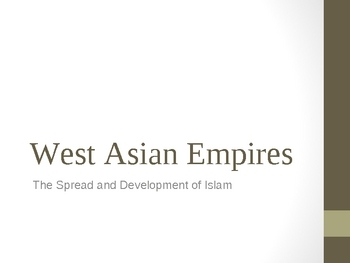 Asian Empires Overview Powerpoint Lecture Notes