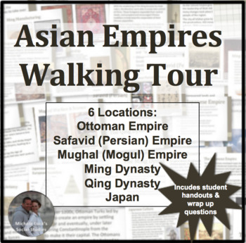 sian Empires Walking Tour or Gallery Walk Activity