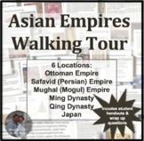Asian Empires Walking Tour or Gallery Walk Activity