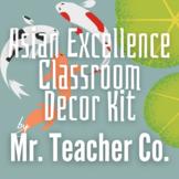 Asian Excellence Classroom Decor Kit