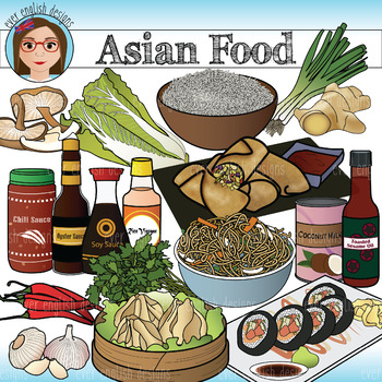 Asian Food Clip Art