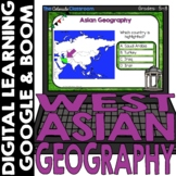 Asian Map and Geography DIGITAL Cards Set 1 | Google Class