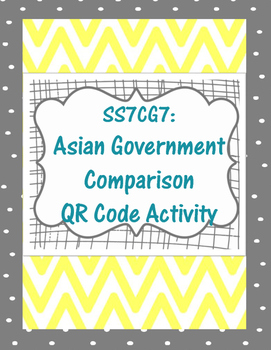 Asian Government Comparison QR Code (SS7CG7)