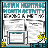 Asian Heritage Month Activity