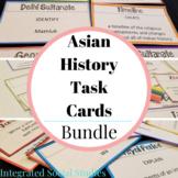 Asian History Task Cards Bundle