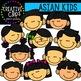 Asian Kids {Creative Clips Clipart}