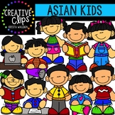 Asian Kids {Creative Clips Clipart}