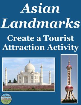 Asian Landmarks Activity