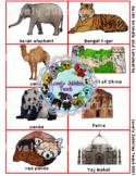 Asian Landmarks and Animals PDF