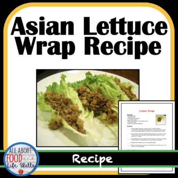 Asian Lettuce Wraps Recipe