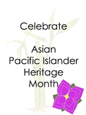 Asian Pacific American Heritage Month Activity Word Search