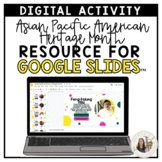 3rd-5th Grade Asian Pacific American Heritage Month - Goog